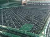 学校操场围栏@勾花网体育场羽毛球场护栏网