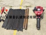单人手持轻便型取土钻机 便携式土地调研取样机 冲击式取沙钻机