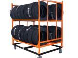 巧固架钢制堆叠可拆折叠金属置物仓储物流汽车零部件架布料堆垛架