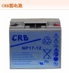 CRB蓄电池NP12-12现货正品免维护12V12AH