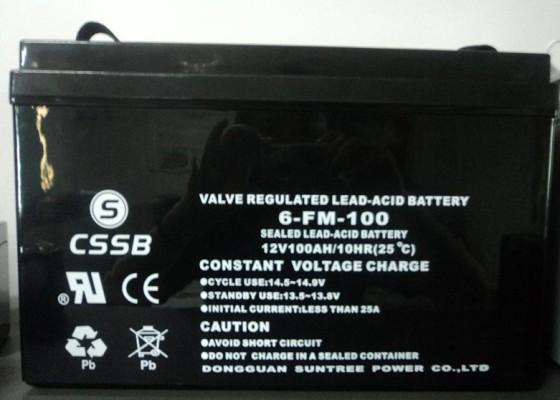CSSB沈松蓄电池6-FM-38铅酸免维护正品12V38AH