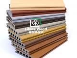 二代PE共挤圆孔塑木地板