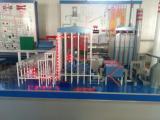 电厂模型,发电机组模拟演示板,发电厂全面性热力灯光演示