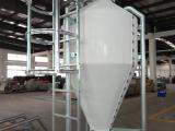 玻璃钢料塔A猪舍上料箱自动料线饲料料塔A德州喂料机配件厂
