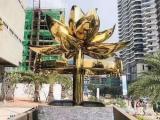 紫金花雕塑不锈钢定制厂家