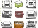 注射模具生产厂家注塑收纳盒模具 源头工厂