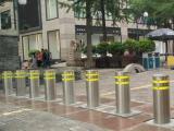 供应交通设施不锈钢升降柱厂家  阳江公园液压升降柱安装
