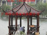 屋顶花园实木凉亭,庭院防腐木八角亭子制作厂家