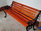 公园座椅 户外休闲椅 等候椅 铸铁脚排椅 现货供应
