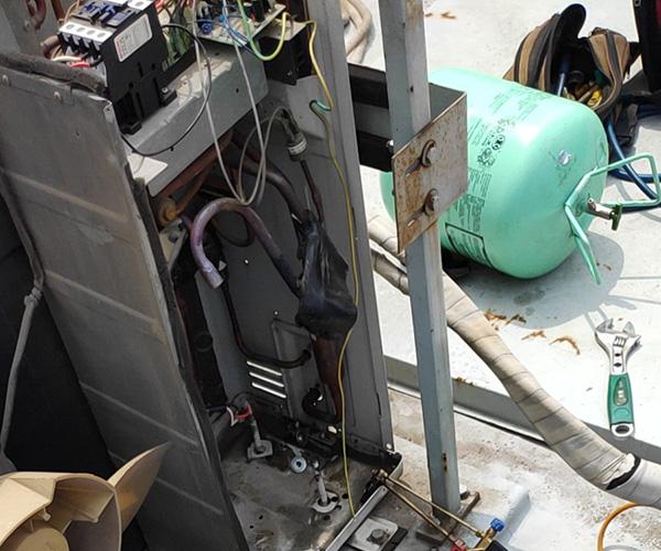 玉林和友家电维修 吊顶式空调维修公司 福绵区维修公司
