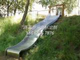 户外儿童不锈钢滑梯游乐场地形滑梯生产厂家直销