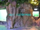 城市庭院水泥景观塑石 水泥景观假山