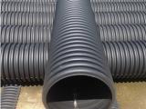 供应DN800大口径PE钢带增强波纹排污管