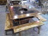 重庆火锅桌子定做厂,火锅店椅子板凳生产厂家及类别