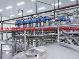 大型高剪切均质机,处理量大,适合工业化在线连续生产