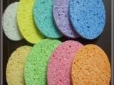 木浆棉洗脸扑不易发霉海绵卸妆清洁工具粉扑洁面扑