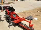 挖坑机价格  挖沟机定做   挖坑机直销 水渠开沟机