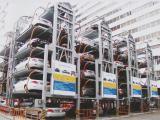 出租出售二手机械式立体车库 二层升降横移简易升降立体车库