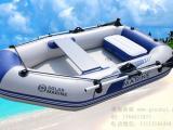 2人三层加厚拉丝底充气艇,橡皮船,硬底漂流船