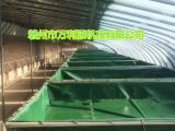 供应水产养殖帆布水池养鱼养虾养泥鳅500克刀刮布水池