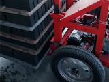 新型水泥砖电动搬运叉砖车