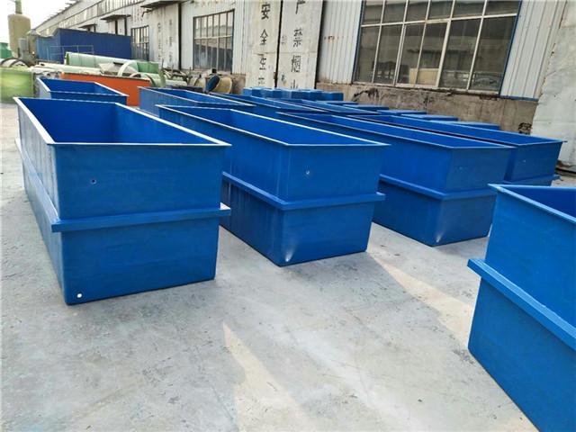 玻璃钢水槽制作 华庆公司 玻璃钢水槽