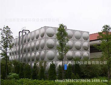 供应不锈钢圆水箱 不锈钢水箱 市政供水