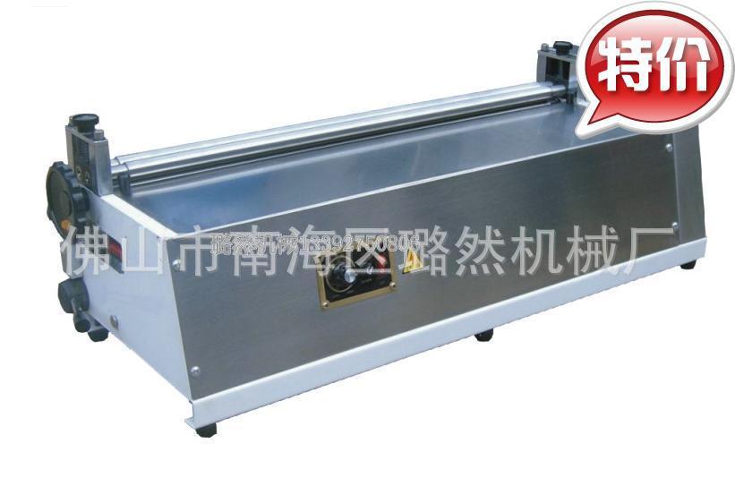 胶水机上胶机超高价厂家直销全不锈钢裱纸机LR-400台式调速胶水机