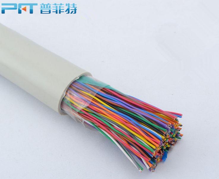 现货PFT原装室内通信线缆三类25对0.5无氧铜大对数电线电缆厂家