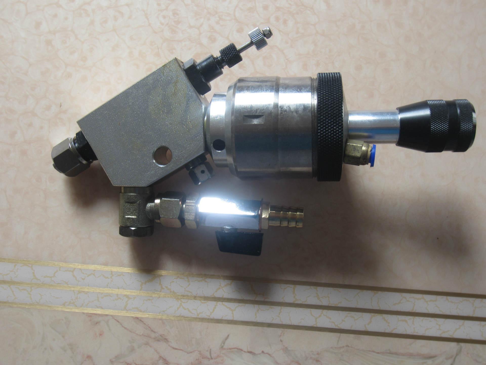 全自动抛光机喷枪 自动喷漆枪 不锈钢 压送式 喷抛光浆用