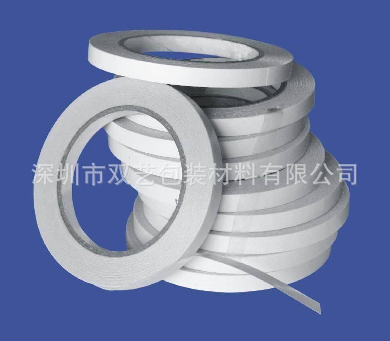 白色离型纸双面胶带 详见产品 客户需求 压敏胶 易撕/可截断、横断、直断