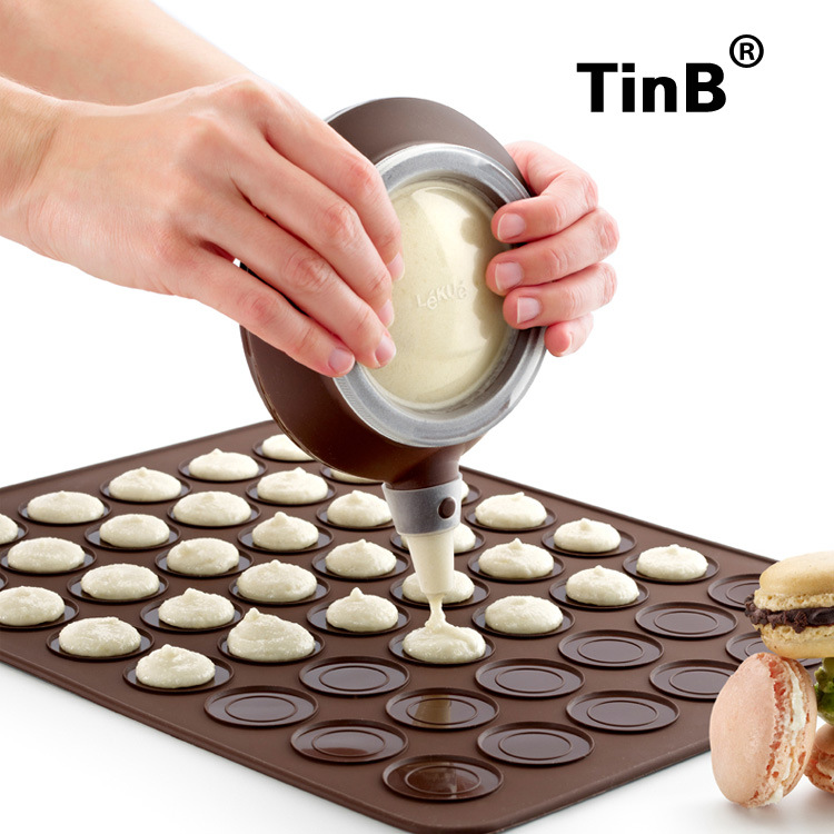 马卡龙模具套装 TinB/天焙 蛋糕模 opp袋装 al-dhmkltz 裱花套装