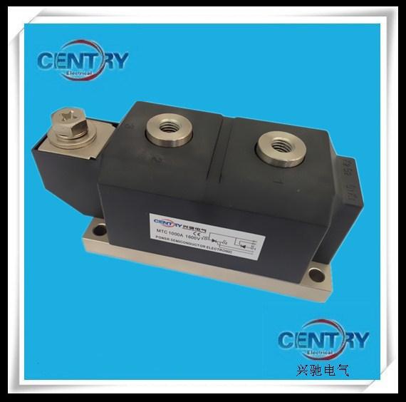 兴驰牌电气MTC1000A/1600V可控硅晶闸管 CENTRY/兴驰 平底形