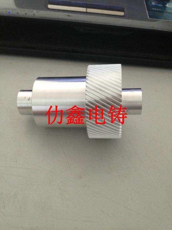 斜齿轮电铸加工 注射成型模 多型腔模具 固定式模具