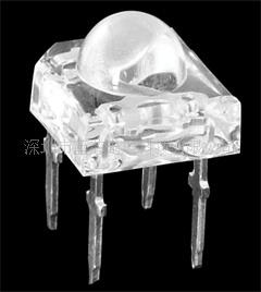深圳led黄光食人鱼灯珠 食人鱼LED 直插型 稳定性强