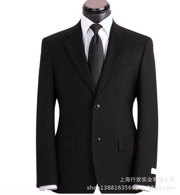 上海团购职业商务西服 套装 ,金融机构员工西装外套工作服