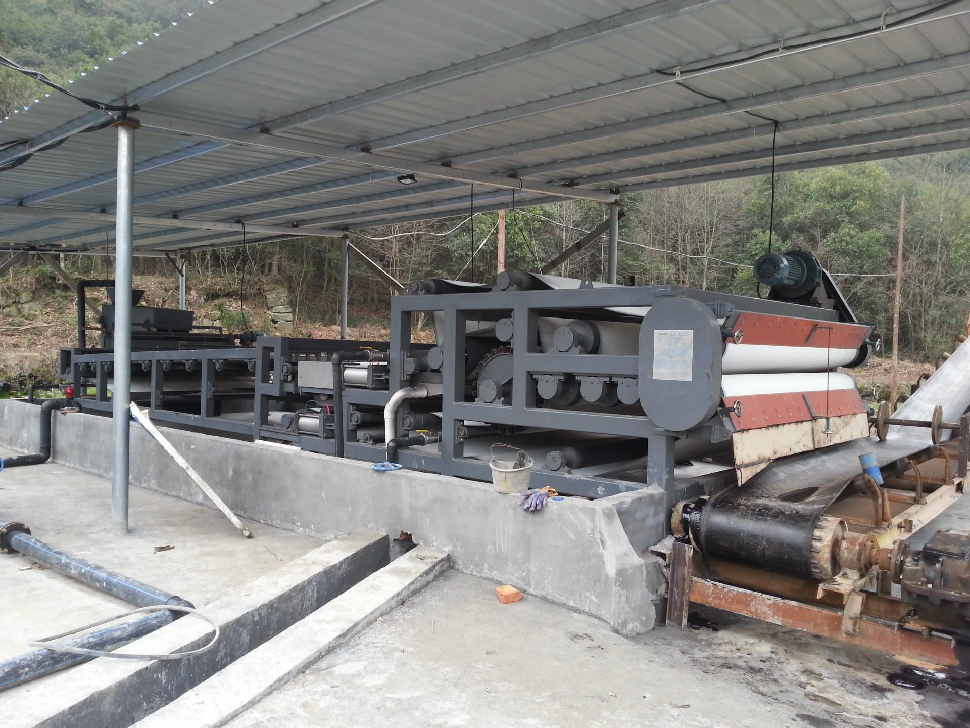贵州稀土矿尾矿泥浆脱水处理设备 污泥脱水压滤机