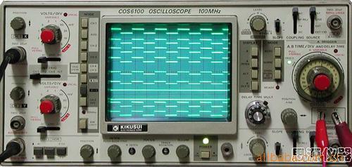 二手模拟示波器100MHz 日本菊水