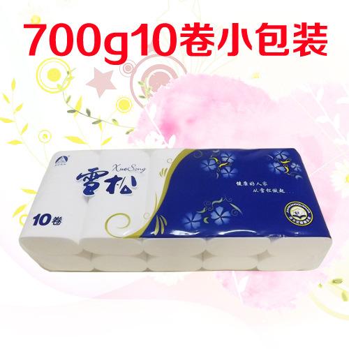 雪松原木浆700g10卷卫生纸卷纸厕纸厂家批发4247×1 合格品 挂浆制造