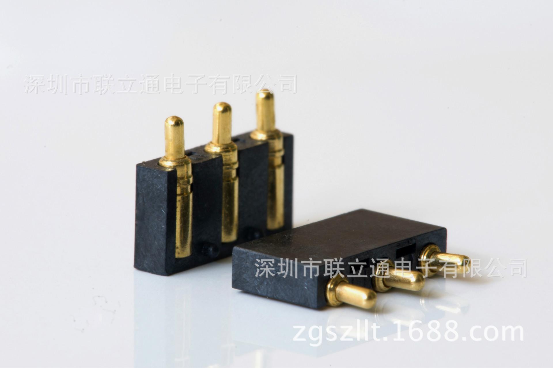 欢迎定制各类弹簧针连接器 LLT 针座/插针 点对点 多合一