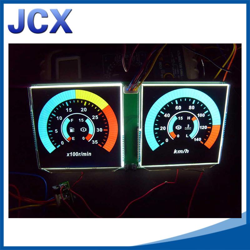 BTN黑膜段式LCD液晶屏 VA黑模