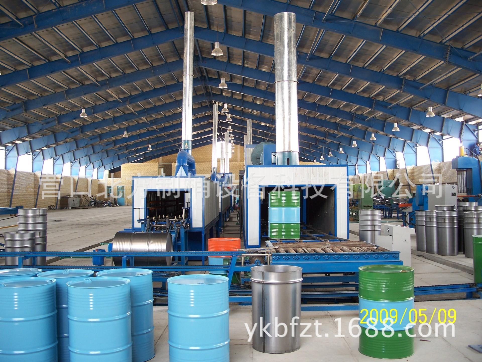 200L钢桶生产线 翻边机 化工,食品,五金、机械