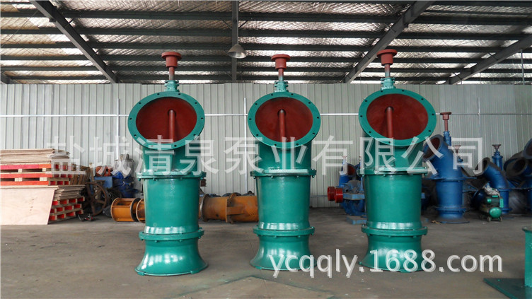 立式轴流泵600ZLB-100(125
