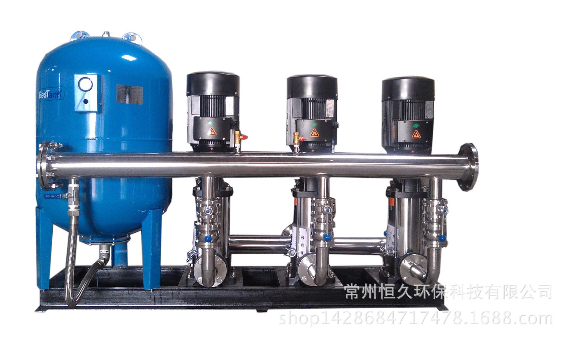 不锈钢恒压变频给水设施 变频恒压供水设备 HJ-BPHY