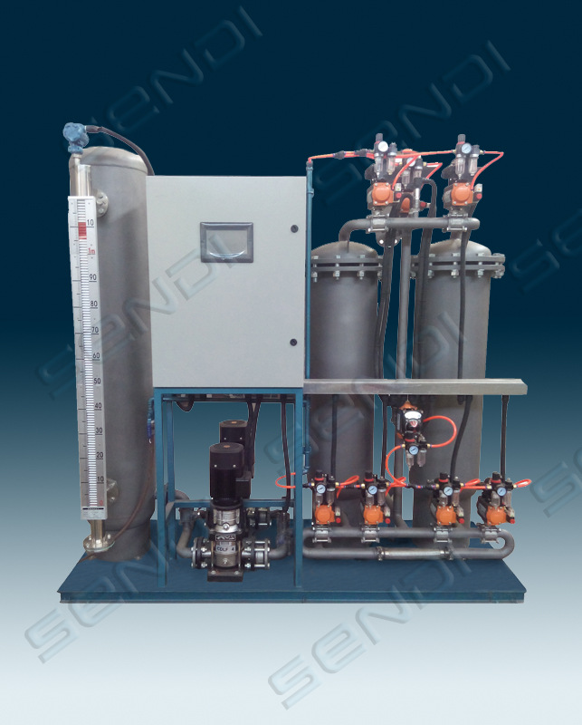 新型专利冷凝水除铁设备 加压过滤 过滤高温水铁离子