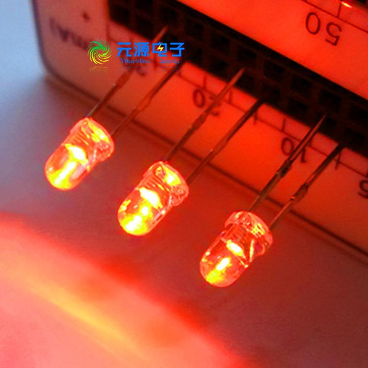 F3/3MM白发橙 直插型 精密聚合