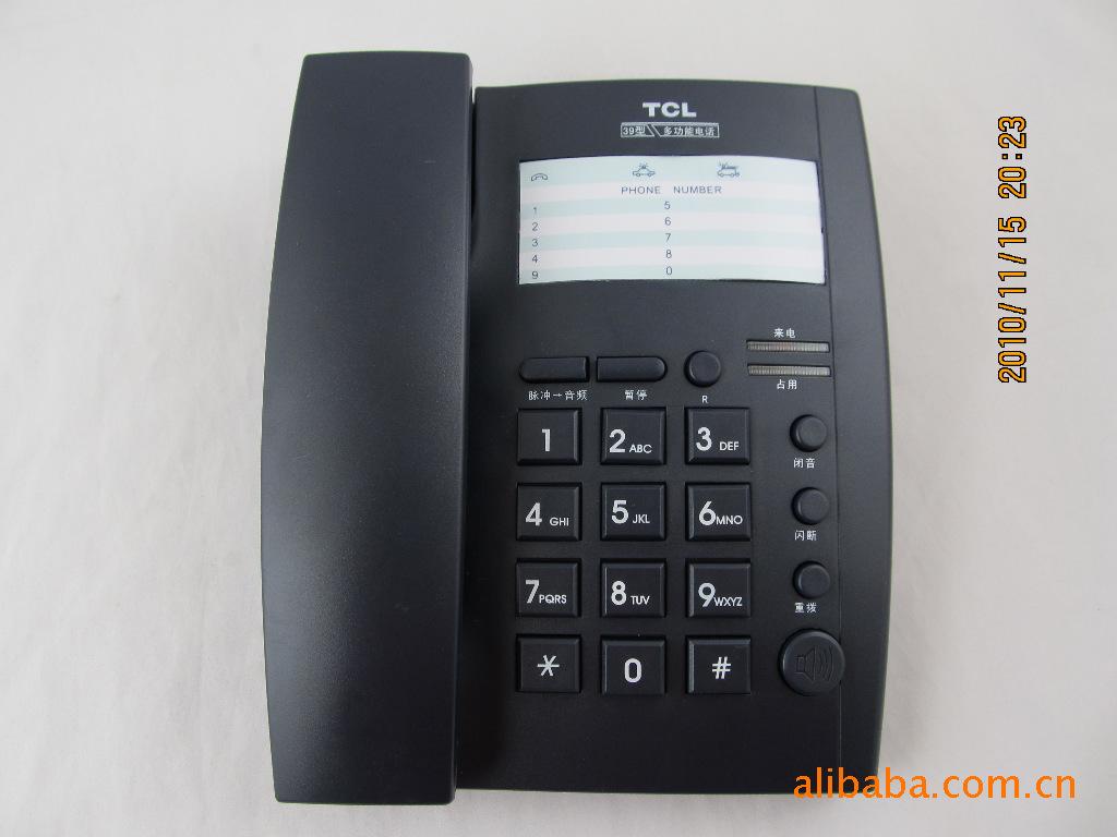 TCL普通电话机HA868(39)P/TD TCL