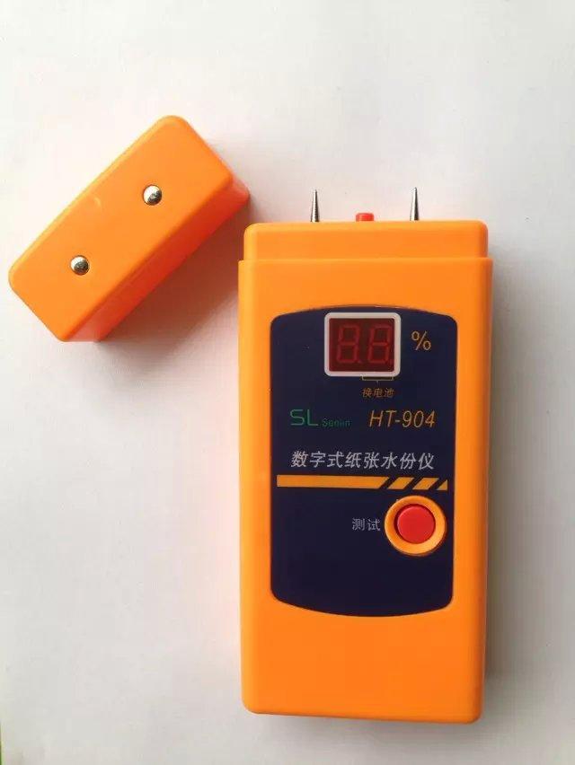 纸张水份测湿仪 电子式温湿度计 测量纸张、纸板、瓦楞纸箱的水分