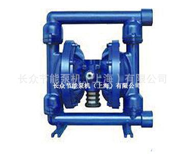 QBY型气动隔膜泵 QBY 铸铁、不锈钢、铝合金、工程塑料、衬氟 气动隔膜泵