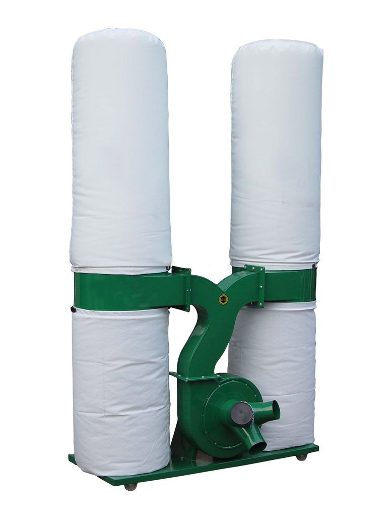 实木家具木工机械封边机配套除尘设备方便移动单筒/双筒吸尘器 万汇伟业